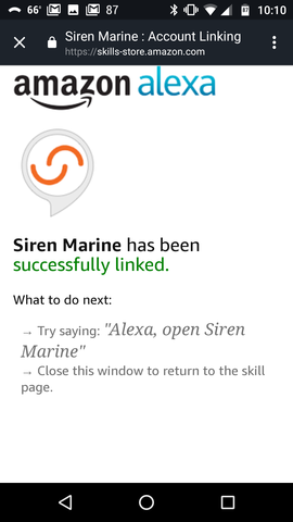 Siren Marine Introduces Integration with Amazon Alexa